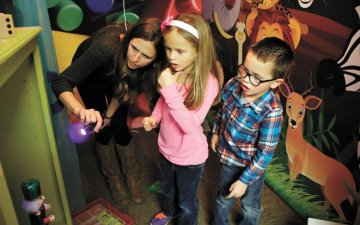 The escape rooms and the disadvantaged children