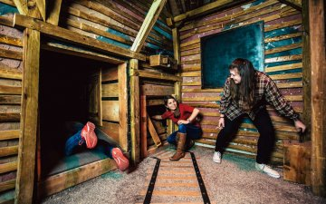Escape rooms and people with claustrophobia or fear